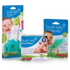 brush-baby安心刷寶寶潔牙組