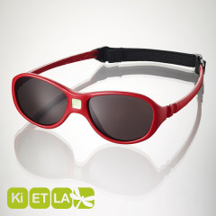 <font color=Fuchsia><b>舊款特賣 </b></font>法國KI ET LA-Jokaki喬克奇幼兒太陽眼鏡(12-30 months 燄紅)