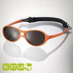 <font color=Fuchsia><b>舊款特賣 </b></font>法國KI ET LA-Jokaki喬克奇幼兒太陽眼鏡(12-30 months 柳橙黃)