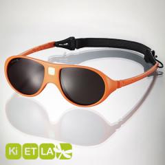 <font color=Fuchsia><b>舊款特賣 </b></font>法國KI ET LA-Jokala喬克拉幼兒太陽眼鏡(2-4 years 柳橙黃)