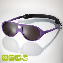 <font color=Fuchsia><b>舊款特賣 </b></font>法國KI ET LA-Jokala喬克拉幼兒太陽眼鏡(2-4 years 葡萄紫)