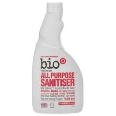 <font color=blue><b>新品瑕疵</b></font>英國Bio-D噴霧式全效型制菌清潔劑(補充瓶/500ml)20191113