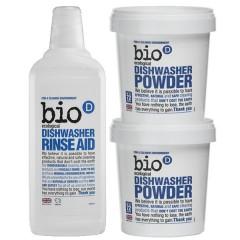 Bio-D洗碗機專用天然潔淨特惠組