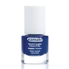 <font color=red><b>即期出清 </b></font>法國namaki 幼兒專用可撕式水性指甲油-寶石藍20210413