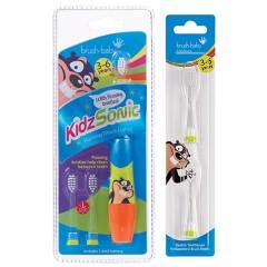 brush-baby幼童聲波電動牙刷+補充刷頭組
