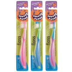 brush-baby大牙亮晶晶兒童牙刷(3入組/6y+)